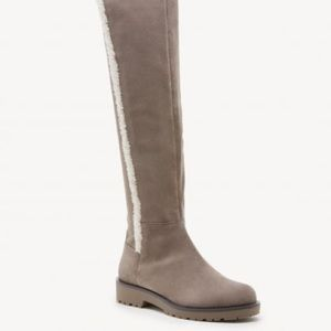 Sole Society Juno Faux Sherling Stretch Boot